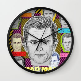 (Mel Gibson - MAD MAX) - yks by ofs珊 Wall Clock