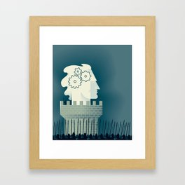 Defending Intellectual Property Framed Art Print