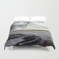 jack frost Duvet Covers featuring Frost by NaturallyJess