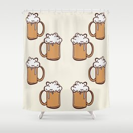 Three Cheers for Beers Shower Curtain