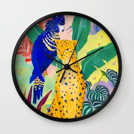New Friends Wall Clock