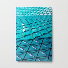 hexa Metal Print
