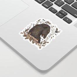 Beware, the Black Shuck Sticker