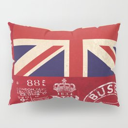 Union Jack Great Britain Flag Pillow Sham