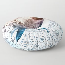 Crowgard (Terra Indigene) Floor Pillow