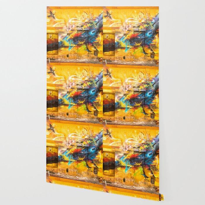 Street Art Bird Wallpaper