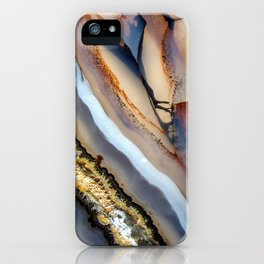 Agate astract iPhone Case