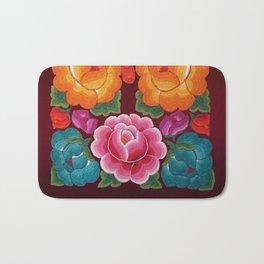 Rosas Tricolor Bath Mat