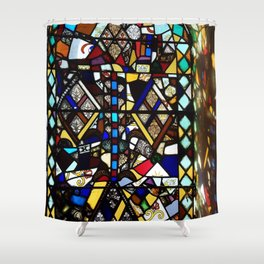 Beauty in Brokenness Andreas 4 Shower Curtain