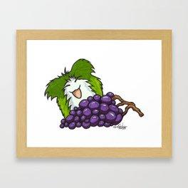 MOGLETZ - Om nom nom! Framed Art Print