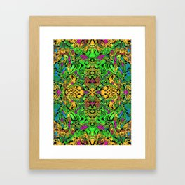 Let There Be Lime Framed Art Print