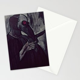 plague test Stationery Cards