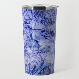 Pager Collage 5 Royal Stain Travel Mug