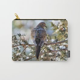 Christmas Dove Carry-All Pouch