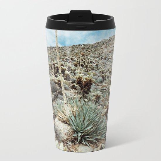 Mountain Cholla Metal Travel Mug
