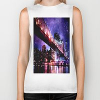 new york Biker Tanks featuring New York New York by WhimsyRomance&Fun