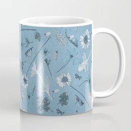 Blue Daisy Field Coffee Mug