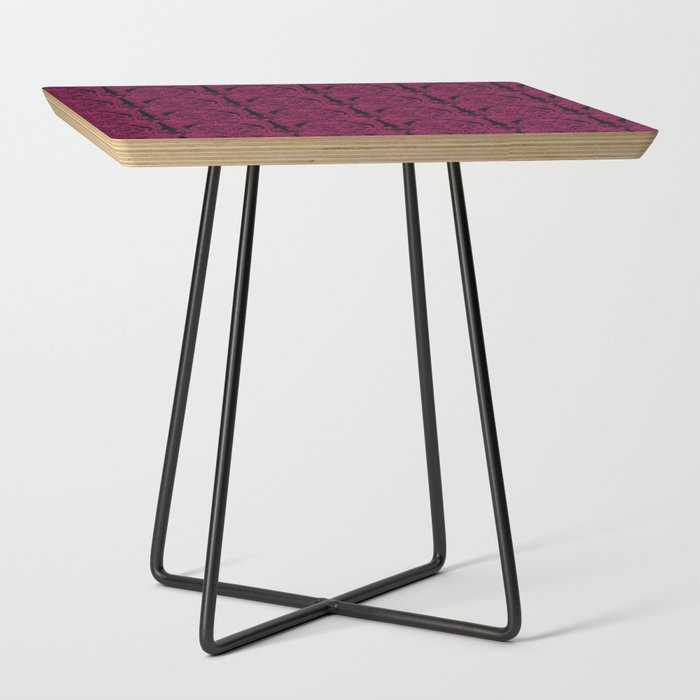 The_Grand_Salon_Magenta_Mourning_Side_Table_by_Miss_HavishamaEURtms_Curiosities__Black__Square