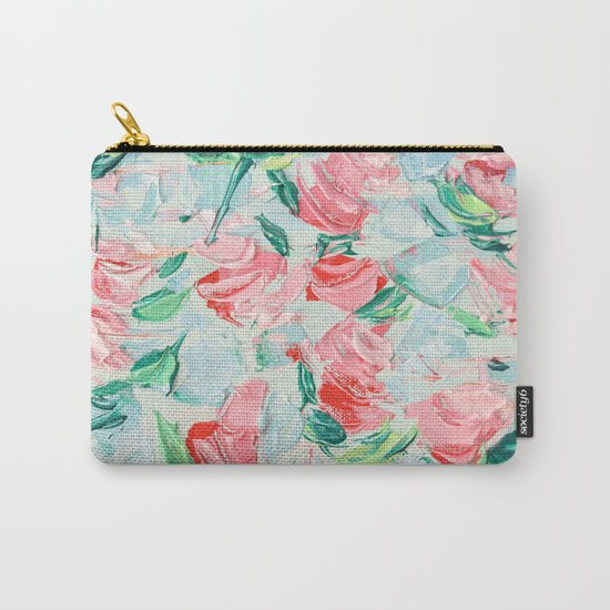 Pompidou Rose Garden Carry-All Pouch