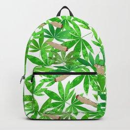 Green Weed Backpack