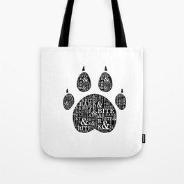 Bark & Bite Tote Bag