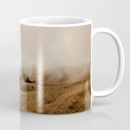 Mount Tamalpais in Fog III Coffee Mug