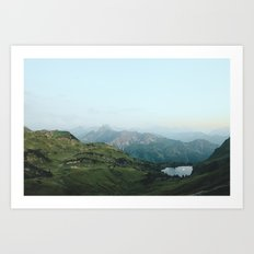 Abyssal landscape photography Art Print
