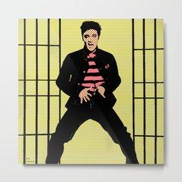 Elvis King Metal Print