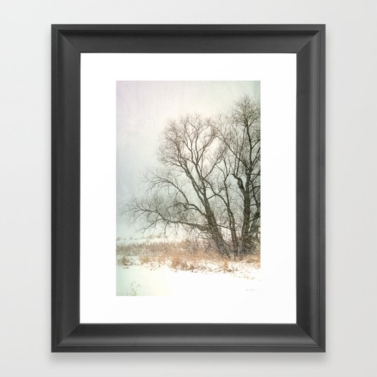 Winter Chill Framed Art Print