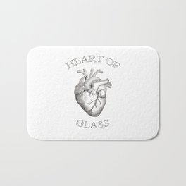 Heart of Glass II Bath Mat