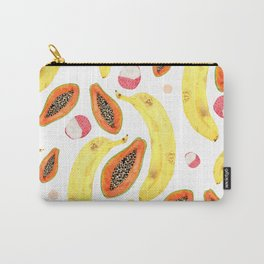 tropical juice (white) Carry-All Pouch