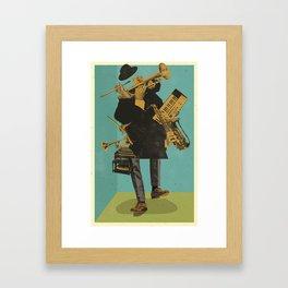 ABSTRACT JAZZ Framed Art Print