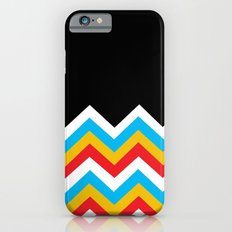 Color Blocked Chevron 18 iPhone 6s Slim Case
