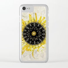 Total Solar Eclipse Clear iPhone Case