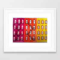 building Framed Art Prints featuring building by tmurriam