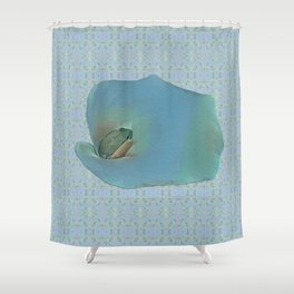 Portrait of a Frog Prince Shower Curtain