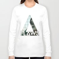 bastille Long Sleeve T-shirts featuring Bastille - Flaws by Thafrayer