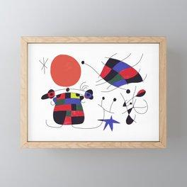 Joan Mirò #3 Framed Mini Art Print