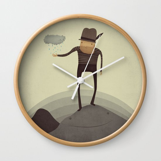 Hey Squirt!  Wall Clock