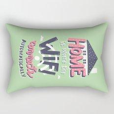 Home Wifi Rectangular Pillow