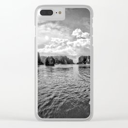 Vietnam Halong Bay 3 Clear iPhone Case