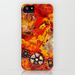There is Nothing Left For You Back There iPhone Case