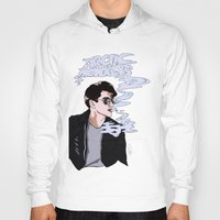 arctic monkeys Hoodies featuring Arctic Monkeys- Up in Smoke by Tune In Apparel