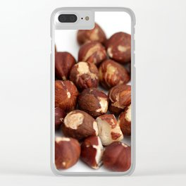 Hazelnuts Clear iPhone Case
