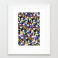 medicine Framed Art Prints featuring Medicine by Maris