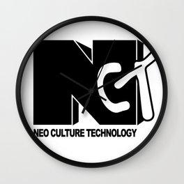 NCT Mono logo Wall Clock