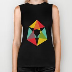 Triangles Biker Tank