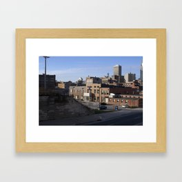 always better from afar Framed Art Print