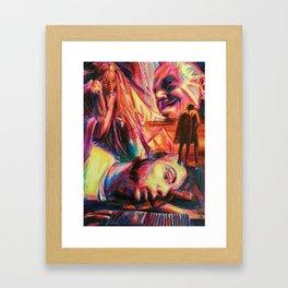 """""""His Devil's Night"""" (Back Cover) Framed Art Print"""