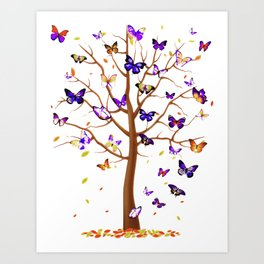 BUTTERFLY NATURE ! Art Print